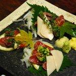 奈良屋旅館 - (夕食)馬刺し