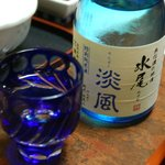 奈良屋旅館 - (夕食)「水尾」純米を注文