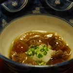 奈良屋旅館 - (夕食)【旬菜】なめこほど煮 御し 浅月