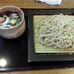 蕎麦切り こばやし - 2014.10.7鴨せいろ¥1200