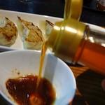 香味堂 - ラー油の辛旨さが良いアクセントになります