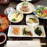 胡蝶 - お昼の和定食 1,900円