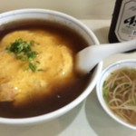 揚子江 - 天津飯大盛り