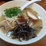 味の蔵 ススキノ店 - 醤油縮れ麺