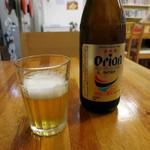 じょうとう食堂 - オジー自慢のオリオンビール♪