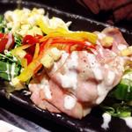 三枚目!貝柱海老蔵 - サラダ