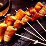 三枚目!貝柱海老蔵 - すき焼き串