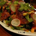 サウル - ヒナ鶏のローストサラダ