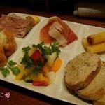 サウル - 前菜の盛り合わせ6種
