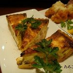 サウル - 豆腐とキノコのキッシュ