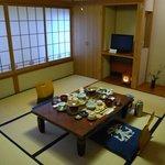 奈良屋旅館 - (朝食)朝食場所は前夜と同じ宿泊と別の個室にて