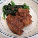 3134415 - スペアリブの中国黒豆味噌煮 野菜添え