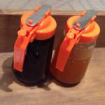 コアパンケーキハウス - メイプルシロップとオレンジソース