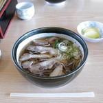 いろは支店 - 冷たい肉そば-650円 (2006.3)