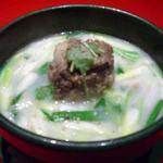 炭火亭 - コムタン(テールスープ)