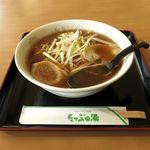 レストラン もみの木 - 料理写真:軟白葱醤油ラーメン(760円)