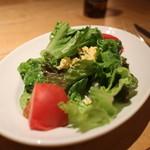 Osteria UVA RARA - ランチのサラダ
