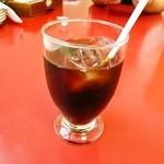 萬壽園 - 食後のドリンク「アイスコーヒー」