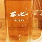 スタンドバーサカグチ - 三冷ホッピー白410円(税別)