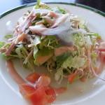 れんが屋 - 洋食セット サラダ