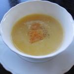 れんが屋 - 洋食セット ポタージュスープ