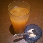 おつじろう  - オレンジジュース&アイス