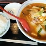 31358319 - 酸辣湯麺のAセット