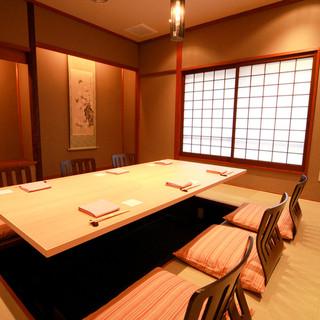 掘りごたつ個室・テーブル個室