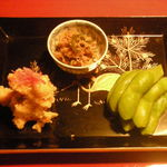 うろん江口 - 前菜