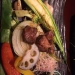 31363894 - 肉と野菜