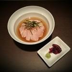ICHIYA - 【鶏茶漬け】鮮度抜群の大山鶏のササミがたまりません。