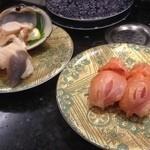 廻鮮寿司処 タフ - ホッキ貝、赤貝