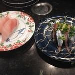 廻鮮寿司処 タフ - ボラ、さんま