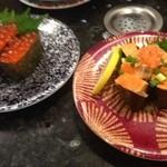 廻鮮寿司処 タフ - いくら、あんきも