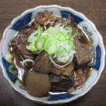 Dining 徳治 - 浅草下町の味「牛すじ煮込み」