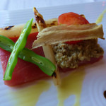 イル・テアトロ - 前菜(マグロのカルパッチョ)