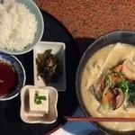 ゆふいん大衆食堂くんちゃん - 団子汁定食