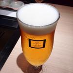 エイジング・ビーフ ワテラス - ビール