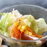 珈琲蔵人珈蔵 - 野菜サラダ