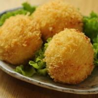 ちゃんこ芝松 - 名物カニクリームコロッケ