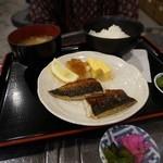 海鮮屋 みなと - 出し巻とさば塩定食¥500