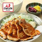 ごはんどき - 料理写真:【ごはんどき】定番!生姜焼き定食!