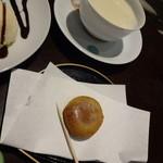 濱田醤油 蔵カフェ - ひしお餅