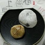 31379300 - 塩豆餅&栗きんとん