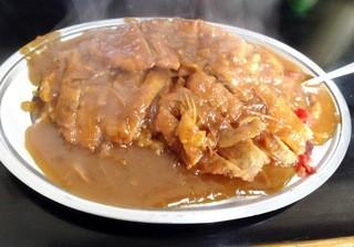 キッチンあべ - かつカレー(中)500円
