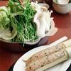 談山  - 料理写真:新鮮野菜一杯の『へるしー鍋』