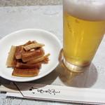 蘭苑飯店 - ビール