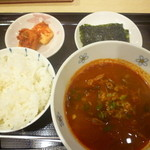 韓の香 - ユッケジャン定食500円