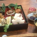 パドマ - 松花堂弁当1500円
