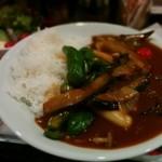 クレージードッグ - 140912野菜カレーセット900円